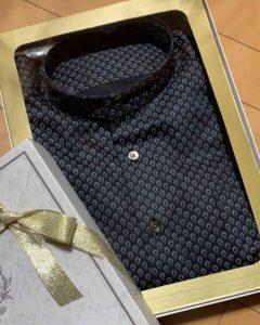 チャイナシャツ黒