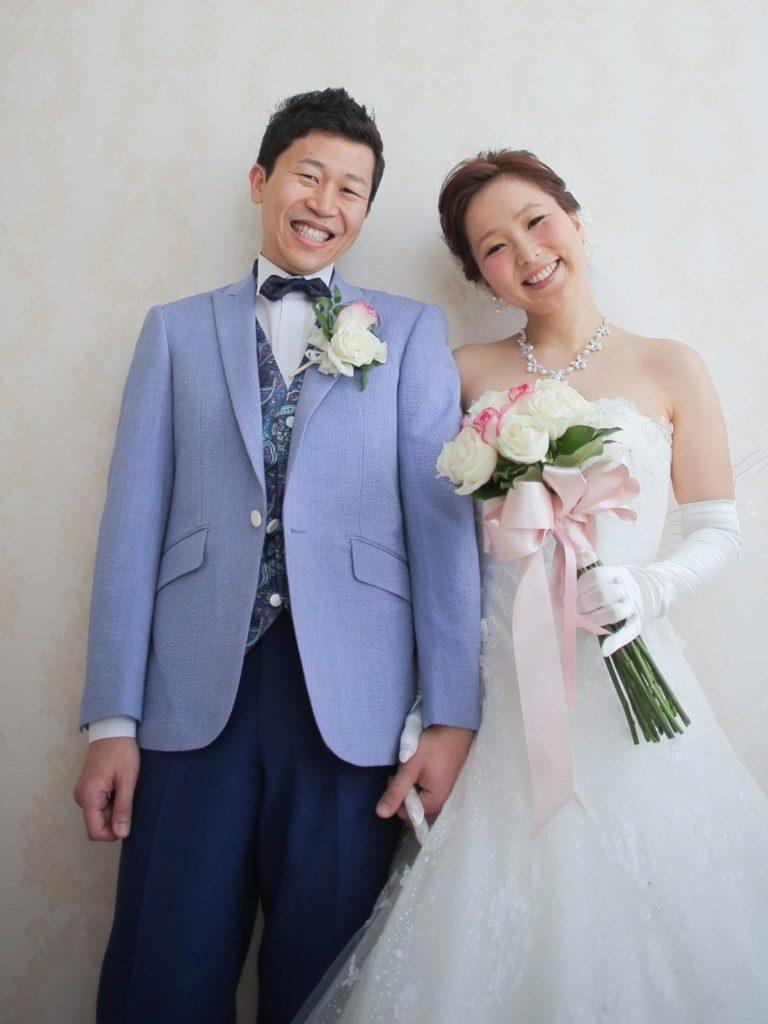 結婚式用タキシード風スーツ
